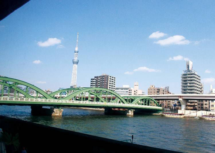 #7. Cielo y Rio: Great Food and a Beautiful View of Skytree and Sumida River