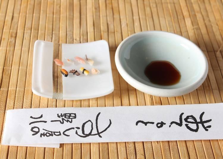 池野弘禮先生的推薦清單5 池野弘禮先生所經營的「壽司屋之野八」 迷你壽司卻擁有驚人的美味品質