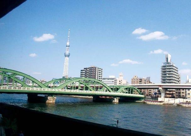 淺草私房景點⑦「Cielo Y Rio」可將晴空塔及隅田川一覽無遺