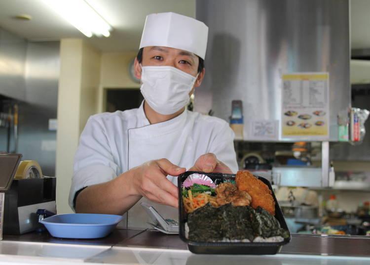 Kaori Ochi's Secret Sightseeing Tips #4: Taste a Delicious Bento at Marusei, Harajuku's Famous Boxed Lunch Shop