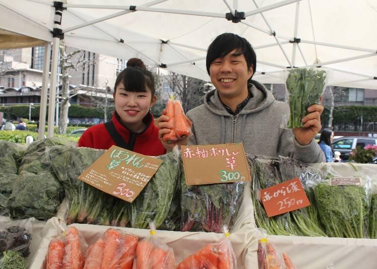 越智香保利小姐私心推薦2 越智香保利小姐樂在「Farmer's Market @ UNU」,文青版產地食材直送