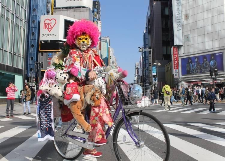 Secret Sightseeing Tip #5: Meet the Shinjuku Tiger, Tokyo's Living Legend!
