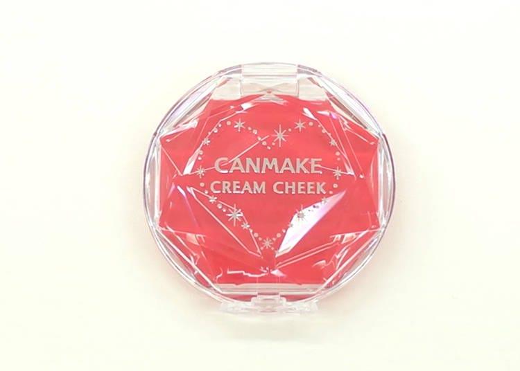 チークにもリップにも!一つで二度おいしいチーク/クリームチーク(クリアタイプ)CL08【580円(税抜)】