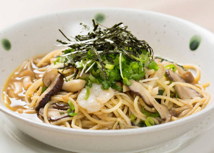 10. Soy Sauce Japanese-Style Pasta