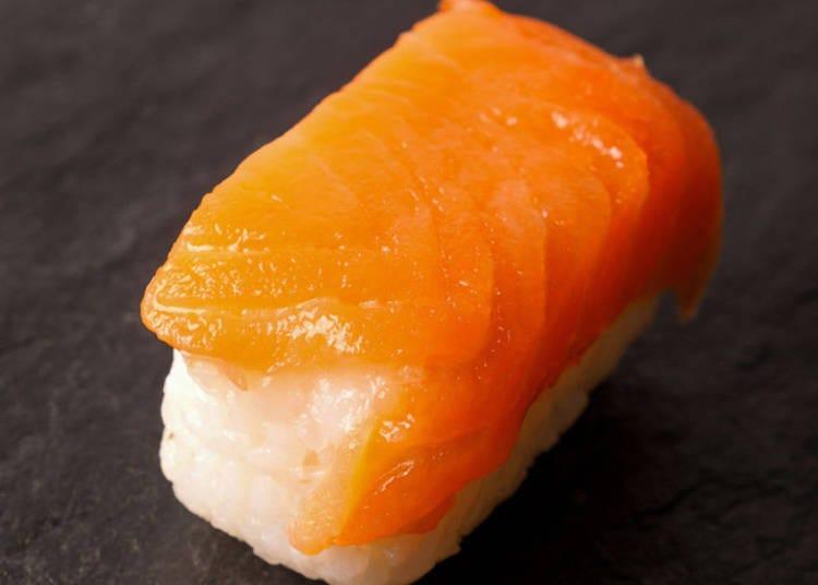 1. Salmon Nigiri