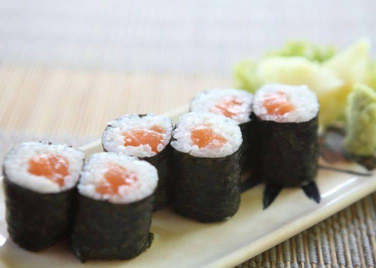 7. Salmon Hosomaki