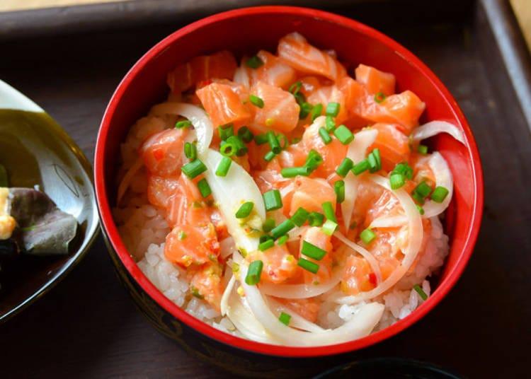 10. Salmon Chirashizushi