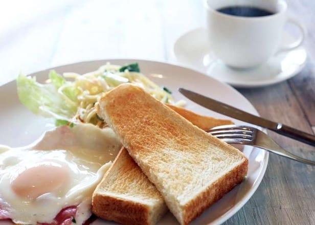 新宿吃早餐往这走!新宿站周边「8点前开门」的朝食餐厅7选