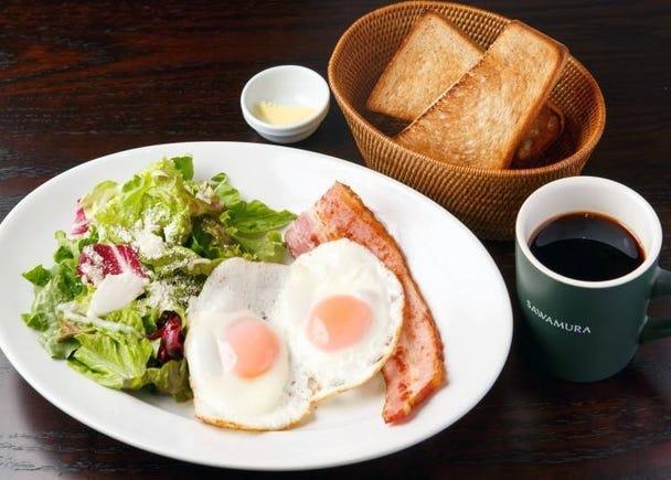 1. Bakery & Restaurant Sawamura Shinjuku: One of the Area's Popular Breakfast Spots!