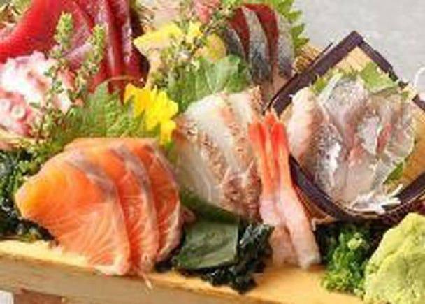 6. Nihon Sengyo Kokakurui Dokokai: Fresh Seafood Omakase Breakfast in Shinjuku!