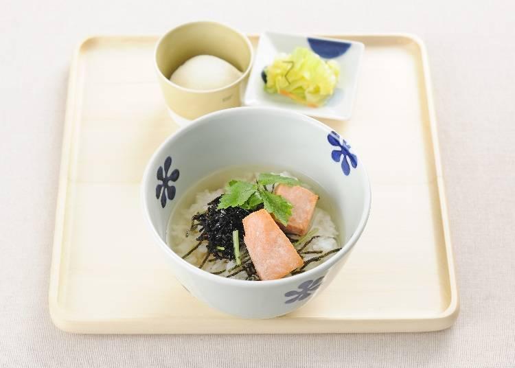 3. 和を感じる「だし茶漬け えん 新宿小田急エース店」のモーニング