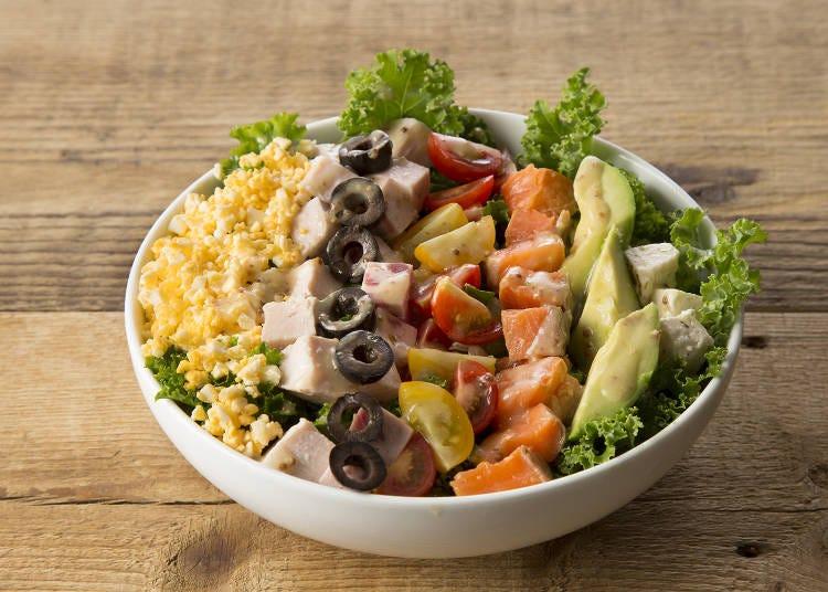 4. 朝から野菜不足を解消できる「Mr.FARMER 新宿ミロード」のモーニング