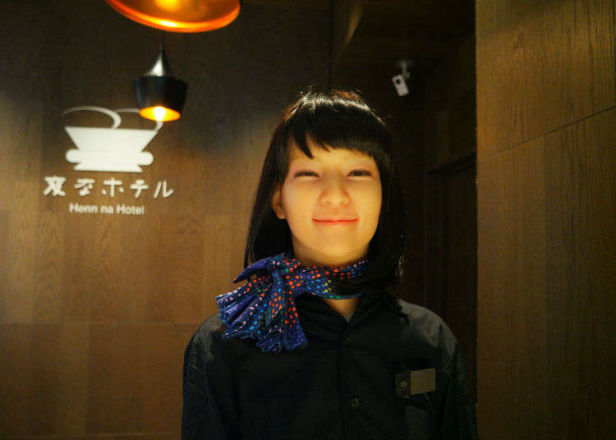 Henn na Hotel Tokyo Ginza: Staying at Japan's Quirky Robot Hotel! (Video)