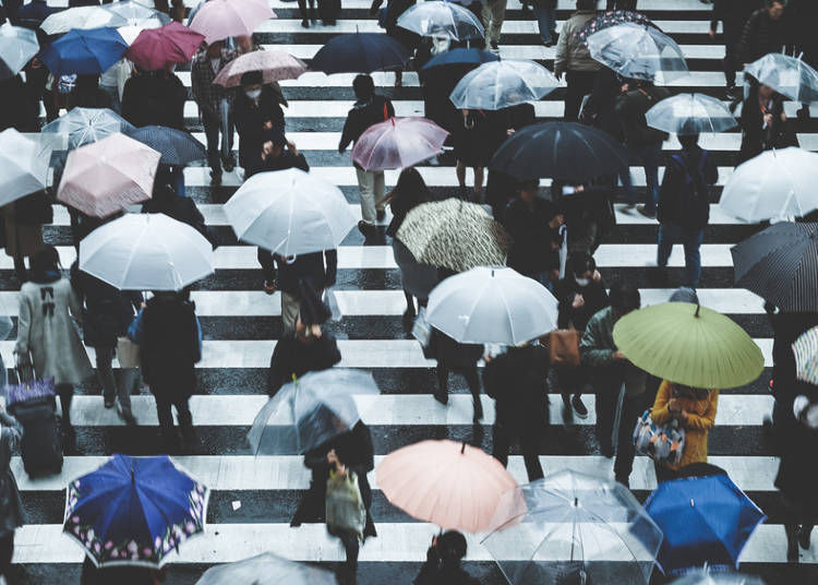 Mind the Rainy Season in Japan (June-July)!