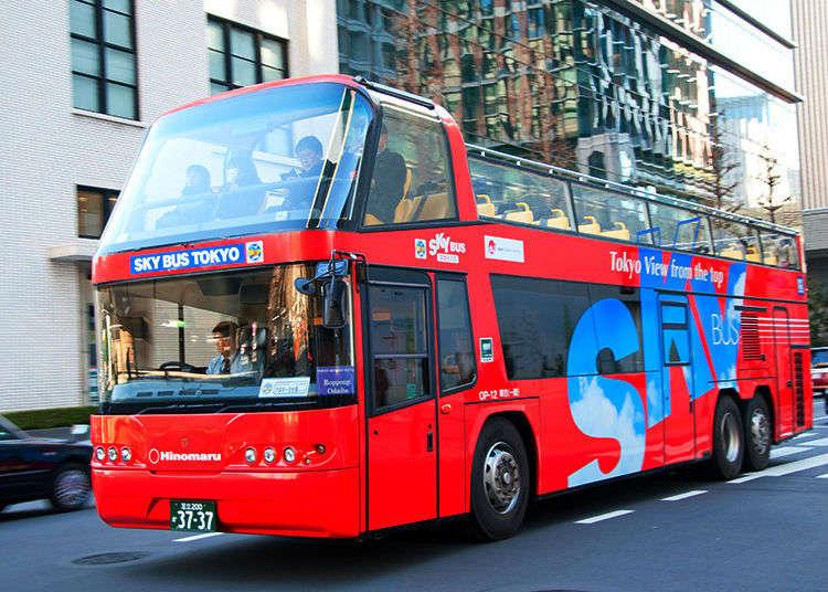 發現東京的魅力新面貌!觀光雙層巴士SKYBUS精選路線