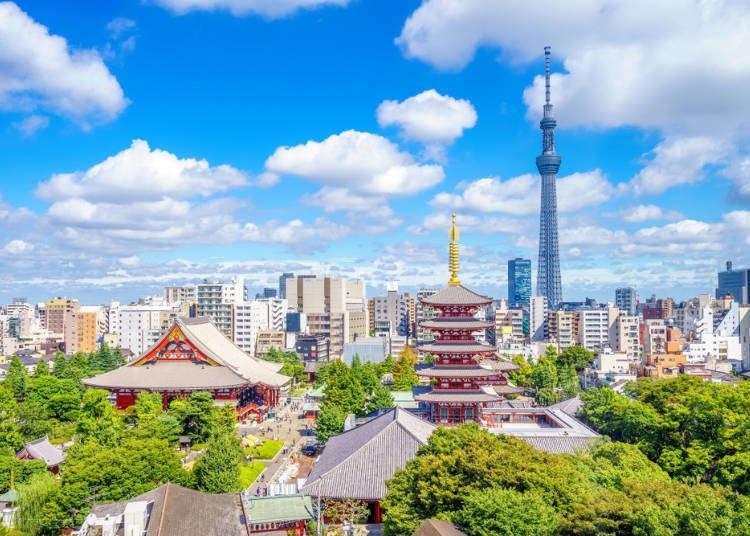 【東京自由行新手必看】超完整行程規劃攻略 照著做你也能立馬變東京達人!