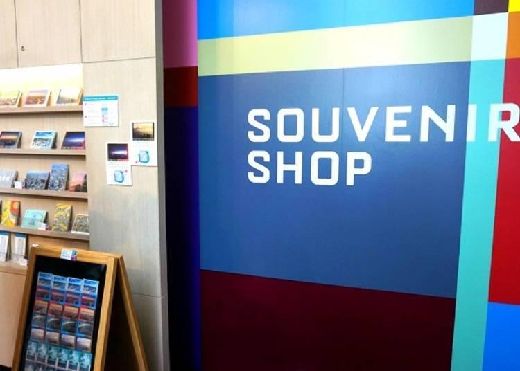 기념품 숍도 있다! Tokyo City View Souvenir Shop
