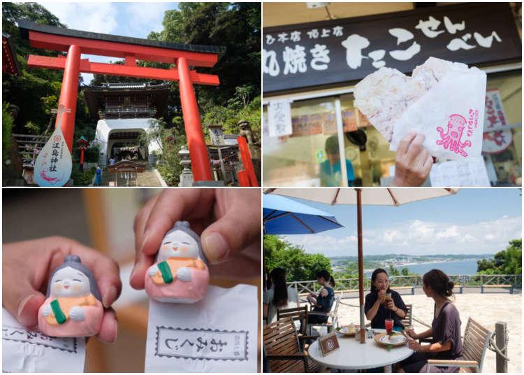 除了灌籃高手裡的場景之外還有很多好去處!江之島、鎌倉的觀光景點!