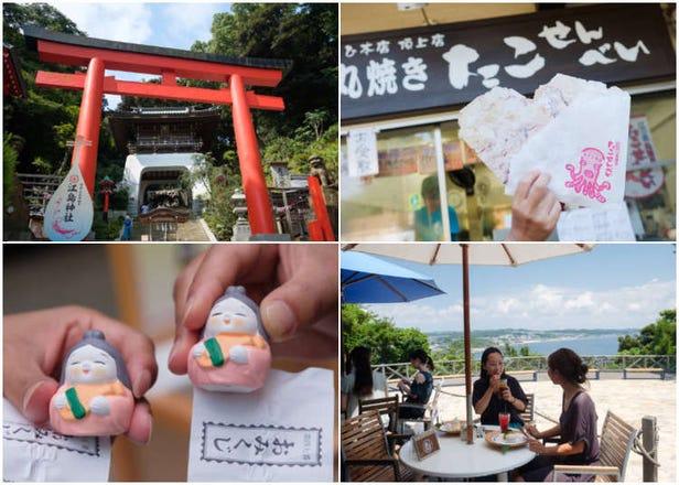 [2부중 1부]도쿄자유여행 필수코스는 바로 가마쿠라 에노시마! 그중 에노시마섬의 볼거리 탐방!!