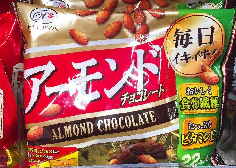 第5名 不二家 杏仁巧克力(アーモンドチョコレート)