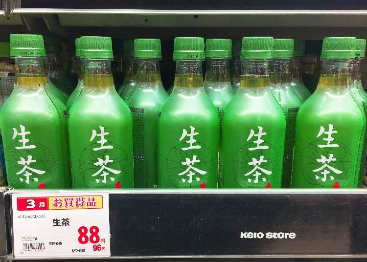 飲品排行第10名 KIRIN 生茶
