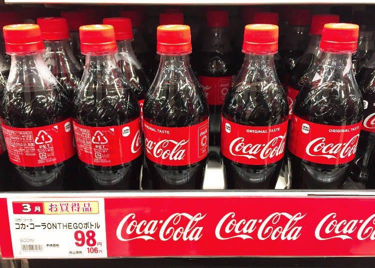 飲品排行第4名 可口可樂