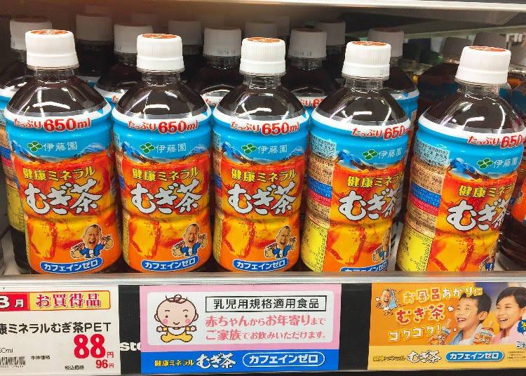 飲品排行第3名 伊藤園 健康礦物質麥茶(健康ミネラルむぎ茶)