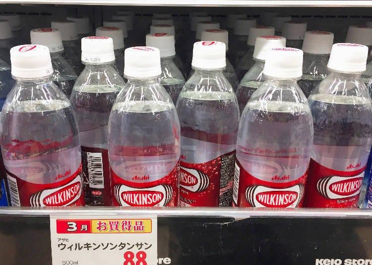 飲品排行第2名 ASAHI WILKINSON碳酸水(ウィルキンソン タンサン)