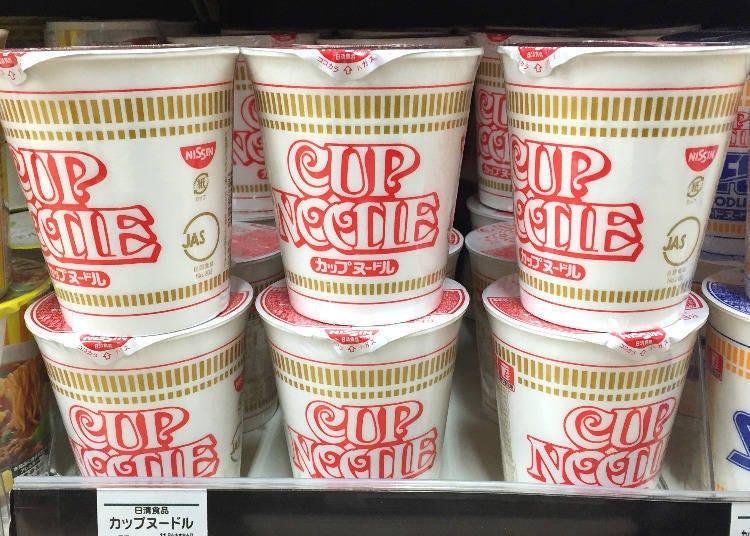 1위:닛신식품의 컵 누들