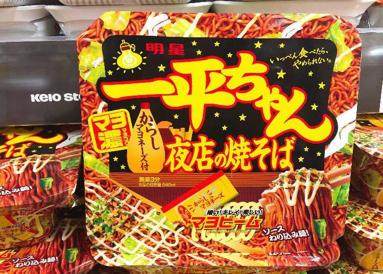 第8名:明星食品 一平夜店日式炒麵(一平ちゃん夜店の焼そば)