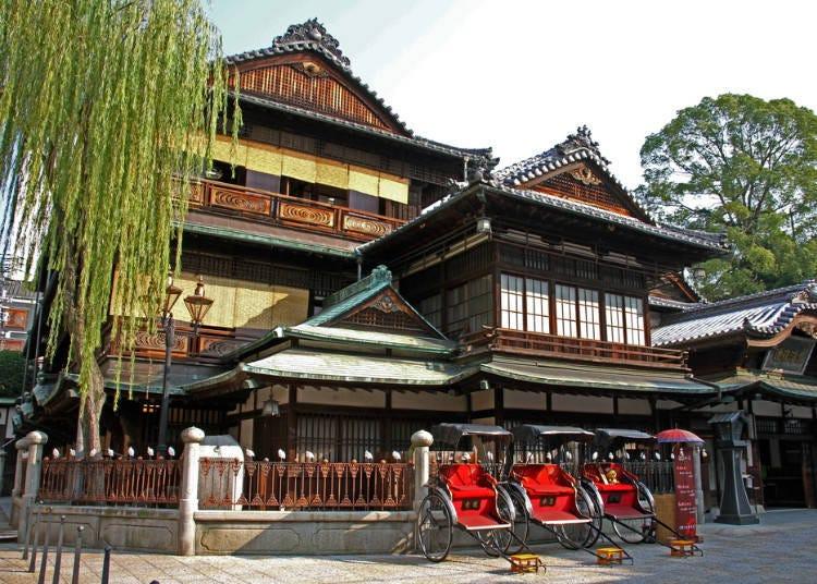 3000년 역사가 있는 일본 최고(最古) 온천 에히메현 도고……단순 온천수
