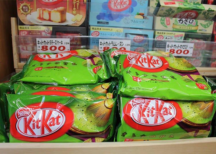 第5名 讓人眼花撩亂的多種好滋味!「Kit Kat」