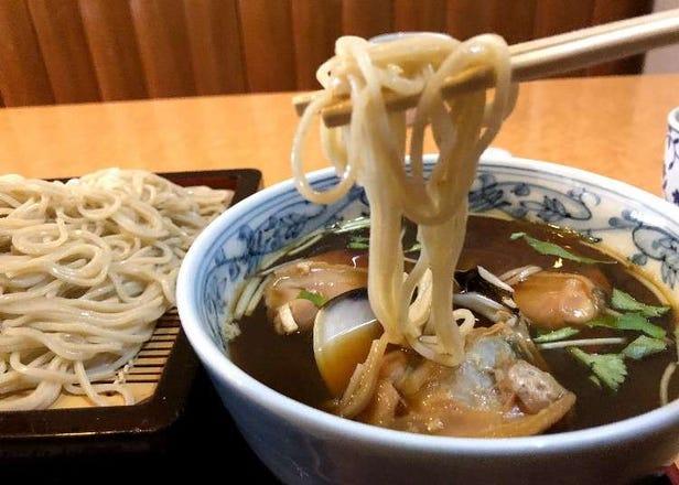 Asakusa Dining Guide: 3 must-try soba shops in Asakusa!