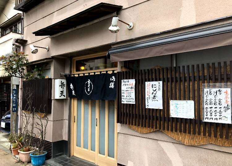2. Benten: Enjoy soba in a long-established restaurant that retains the atmosphere of the Asakusa Geisha quarter