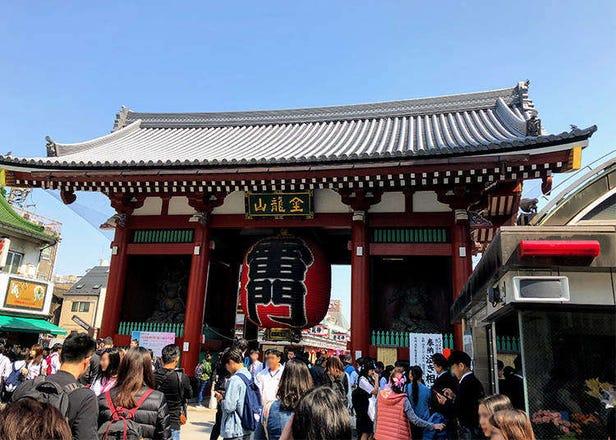 3 Popular Tempura Shops in Asakusa - Tokyo's Traditional Old Neighborhood!