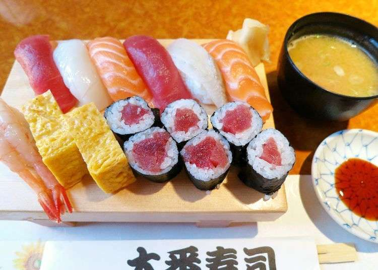 Enjoy Tasty Sushi for Under 1,000 Yen at These 3 Sushi Shops!