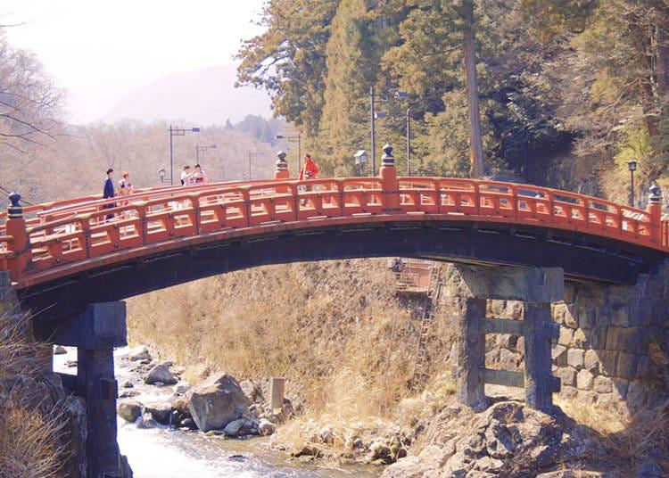 Tourist's Must-See Recommendations  3) Shinkyō Bridge
