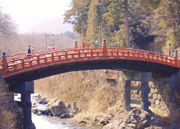 外国人おすすめスポット3)神橋