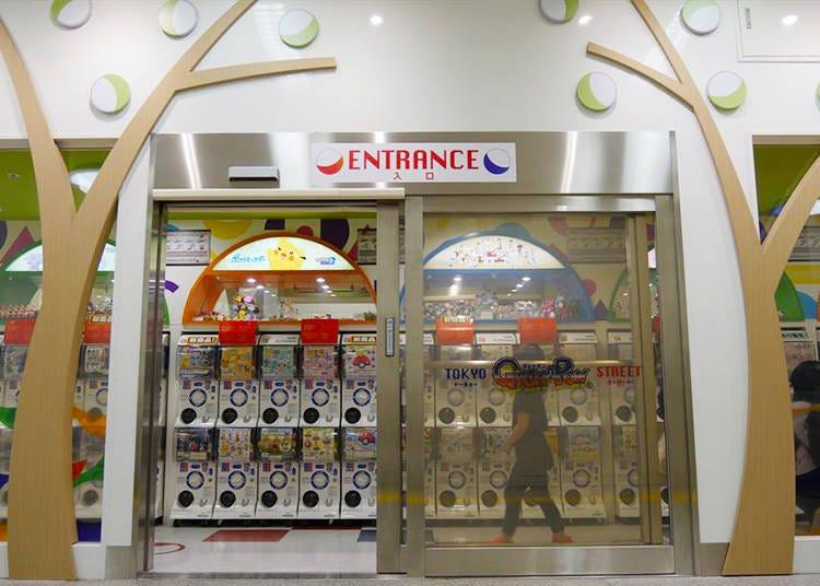 Tokyo Gashapon Street: A Bandai Capsule Toy Paradise