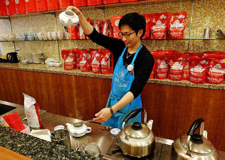 【東京神樂坂】無限續杯!品味上百款紅茶香的紅茶專門店
