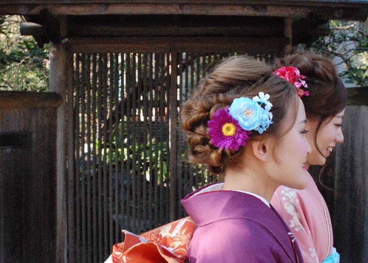 鎌倉散策はやっぱり着物で!『きものレンタルかまくら今小路』