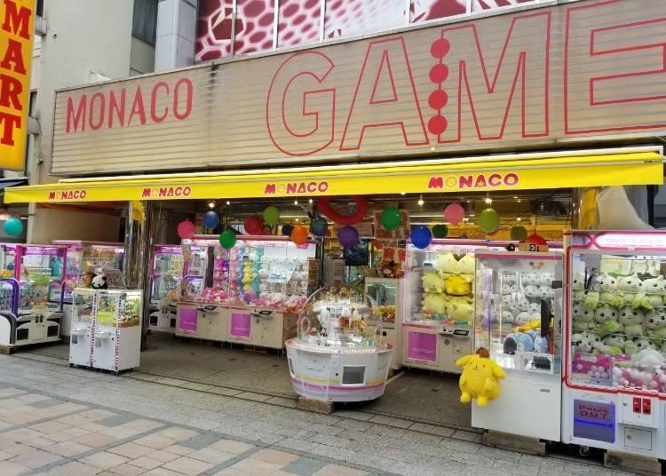 Amuseland Monaco Kawagoe: The biggest game center in Kawagoe Claire Mall