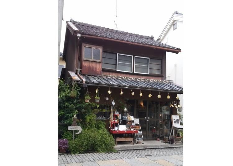 100年以上経つ古民家を改装して誕生したセレクト雑貨屋!『はるり衣裙』