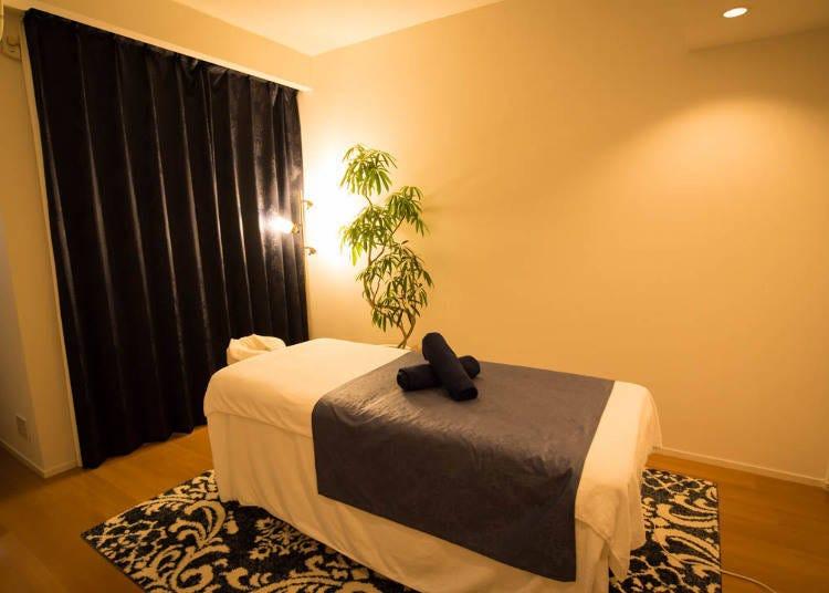 Sense Ginza: Relaxing Massages in a Beautiful Salon