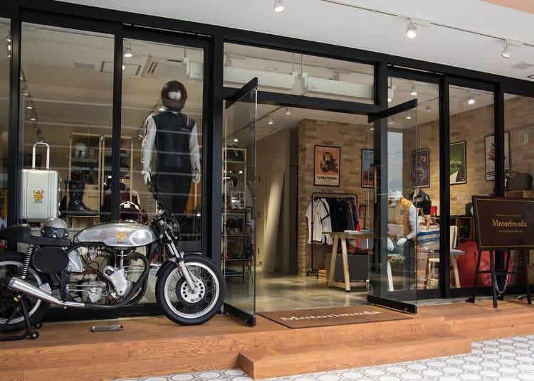 바이크와 자동차를 우아하게 즐기고 싶은 당신을 위한 셀렉트 숍 'Motorimoda Ginza'