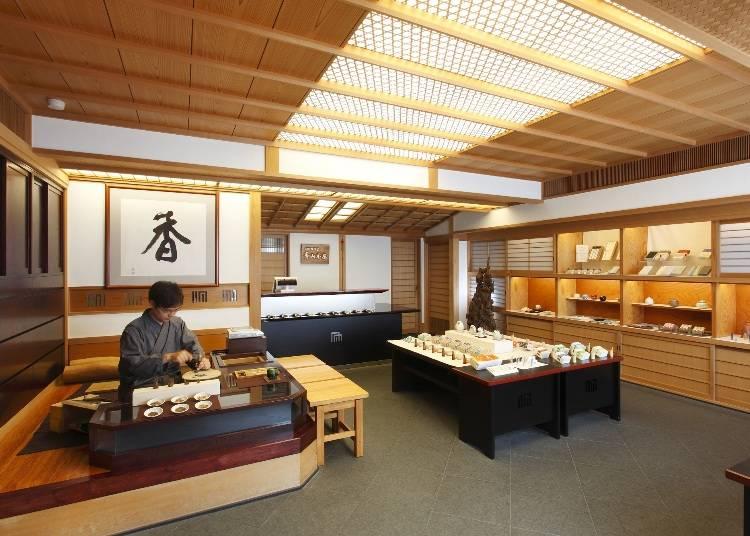 宝永2年から続く京都の老舗で香りを楽しむ!『香老舗 松栄堂 青山香房』