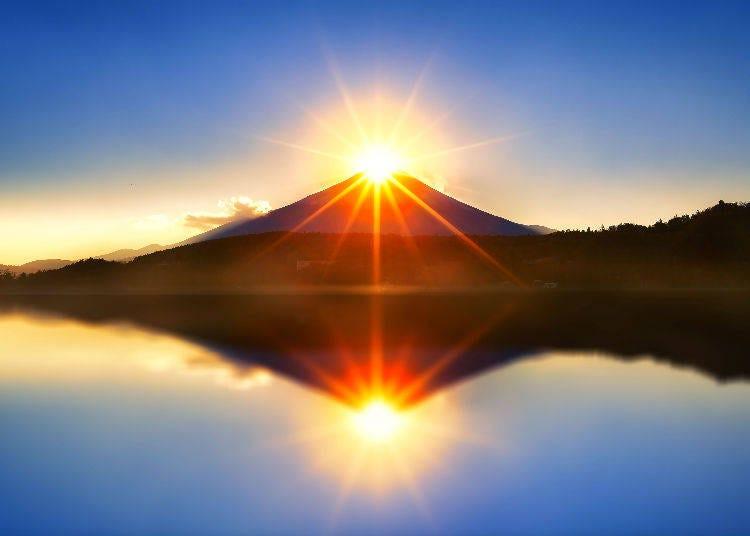 2. Diamond Fuji and Pearl Fuji