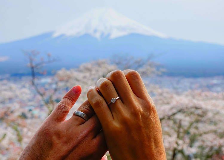 認識富士山⑥在富士山能舉辦結婚儀式嗎?