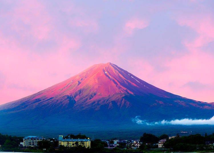 認識富士山①「赤富士」指的是什麼呢?