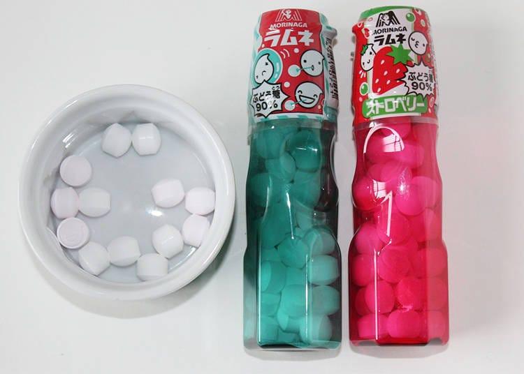 일본의 정통 막과자 라무네